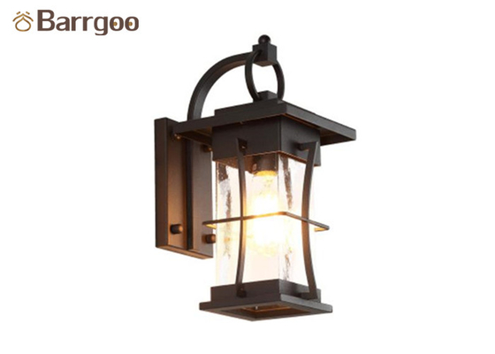 Square Round Vintage Nordic Wall Sconce E27 Bedroom Living Rom Corridor